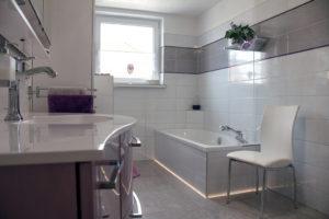 Komfort-Bad eines Kunden